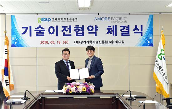 경기과학기술진흥원 산하 바이오센터는 사포닌 성분을 분석하는 기술을 개발, 아모레퍼시픽에 기술이전했다.