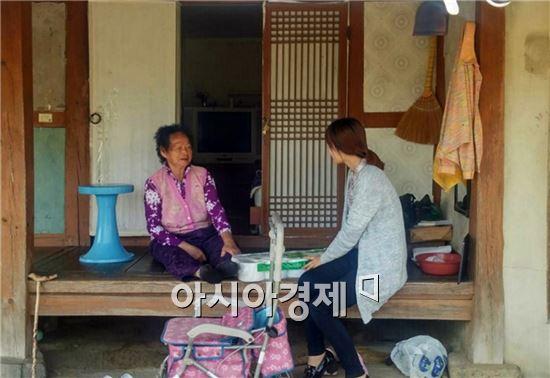 장흥군(군수 김성)은 지난 18일 용산면 29개 마을에서 헬프데이(Help Day) 서비스를 운영했다.