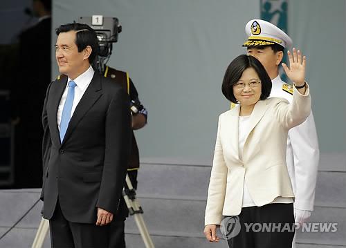 대만 차이잉원 신임 총통/사진=연합뉴스