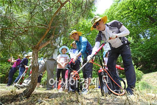 네파, 치악산국립공원에서 소나무 식수 행사