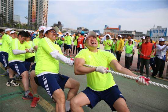 서초구민 체육대회 줄다리기