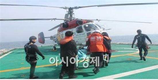 국민안전처 해양경비안전본부의 해양원격응급의료서비스