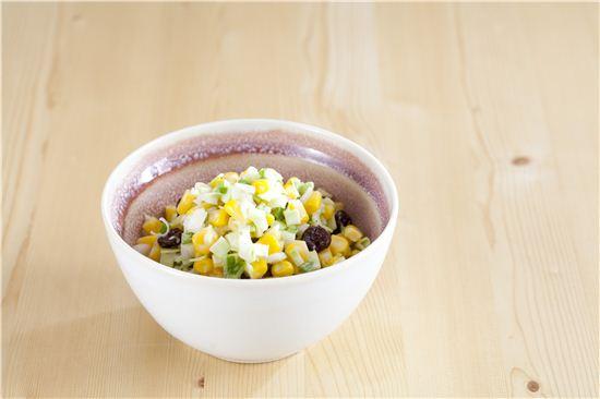 양배추 옥수수 샐러드