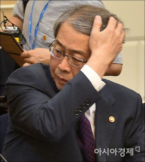 [포토]임종룡 위원장, 구조조정 당정 참석