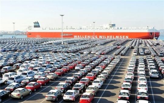 車파업·갤럭시 리콜 직격탄…9월 수출 다시 '마이너스'(종합)