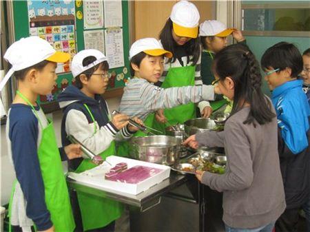 친환경 학교급식