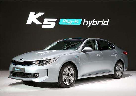 기아차 'K5 PHEV'