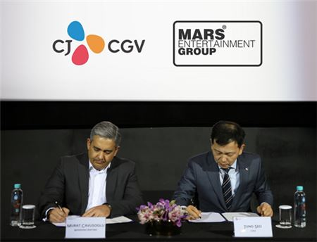 CJ CGV, MARS 인수 효과 반영…영업익 증가