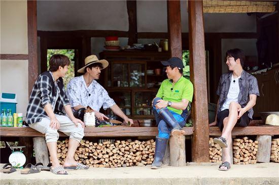차승원 유해진 손호준 남주혁.사진=tvN '삼시세끼-고창 편' 제공