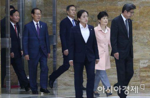 """[포토]朴 대통령 """"국회와 소통 협력으로 국정운영 펼칠 것"""""""