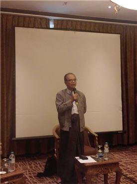 한타민 미얀마 NLD 경제위원장.