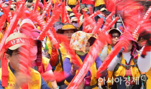 [포토]전국노점상총연합 민생대회