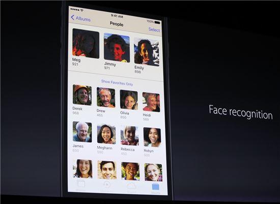 """[WWDC16]인공지능 얼굴인식 서비스 개발…""""개인정보 보호에 최우선"""""""