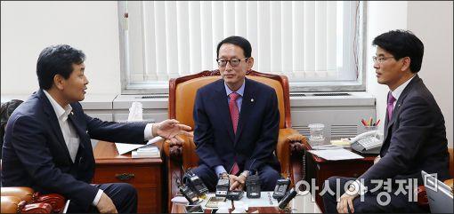 與野 3당 수석 회동 시작…가습기청문회·특위 구성 논의