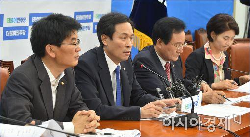 더민주, 'TF정치' 국면전환 총력…'표창원 논란' 곤혹