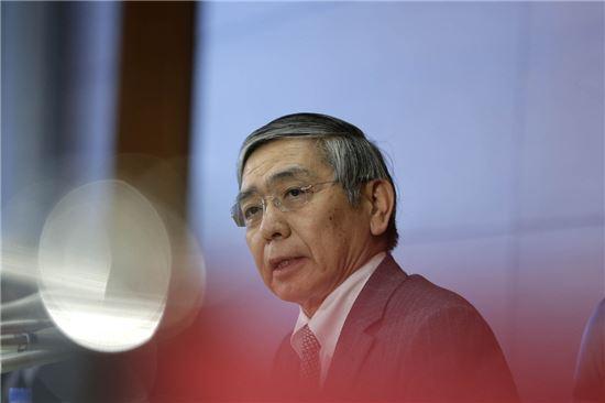 ▲구로다 하루히코 일본은행 총재 (사진 = 블룸버그)
