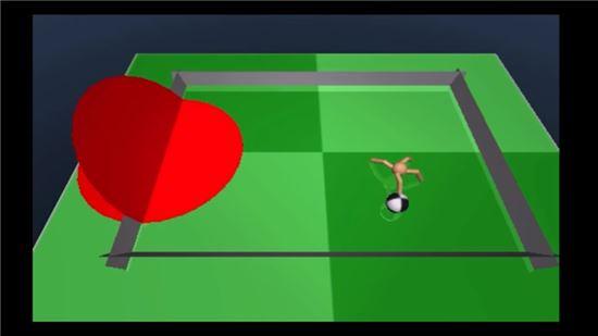 딥마인드의 AI가 연구 중인 개미 축구