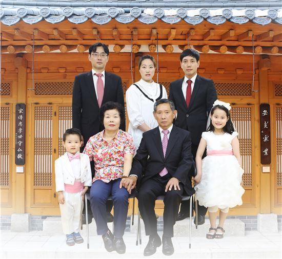 혜화동 오경아씨 가족 사진