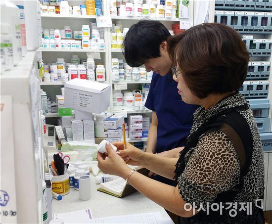 함평군 의료기관 등 의약품 판매업소 지도점검
