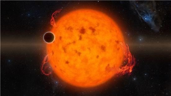 ▲500만~1000만 년 된 외계행성이 발견됐다.[사진제공=NASA]