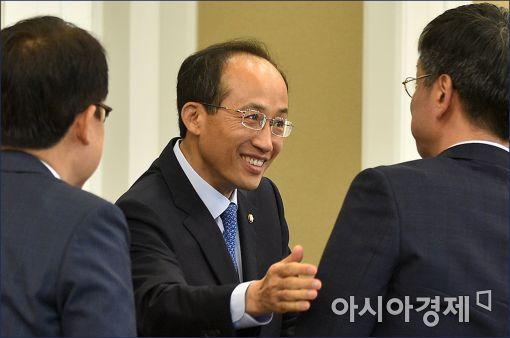 추경호 새누리당 의원(가운데)
