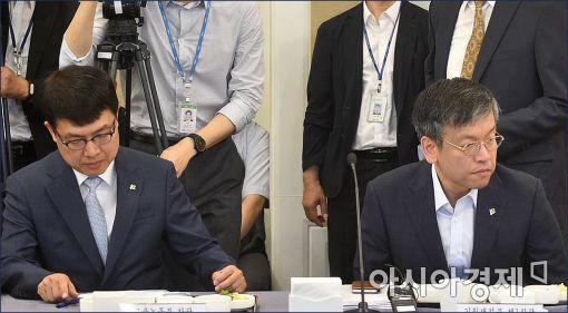 [포토]기재부-고용부, '새누리 일자리특별위원회' 참석