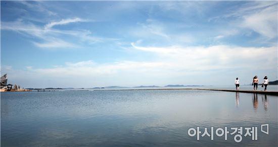 함평군 돌머리해수욕장