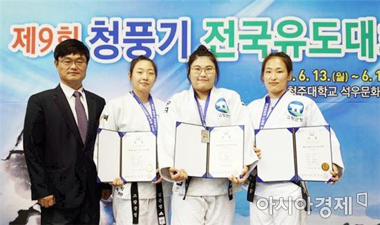 고창군청 여자유도부, 전국대회 선전