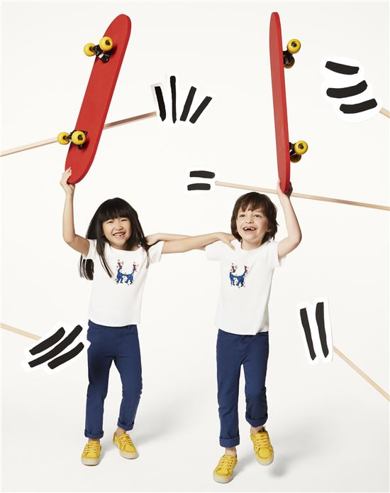 쁘띠 바또, 팝 아티스트 키스 헤링과 협업 컬렉션 출시