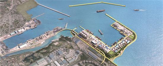동해항 3단계 개발사업(자료:해양수산부)
