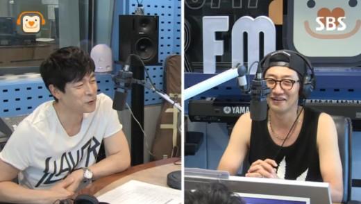 SBS '올드스쿨' 라디오 방송 캡처