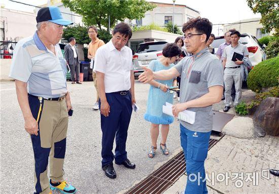 [포토]광주 남구, 제160차 찾아가는 구청장실 운영