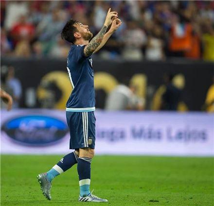 리오넬 메시. 사진=코파아메리카 공식 페이스북