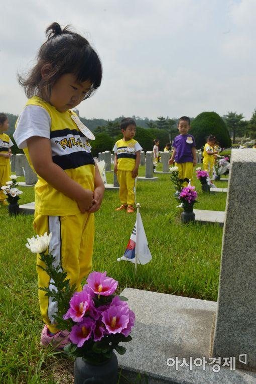 [포토]'순국선열 잊지 않을게요'