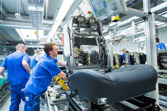 국내 자동차부품업체의 체코 공장 모습