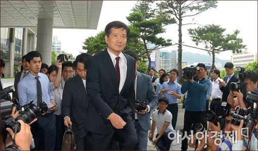 [포토]남상태 전 대우조선 사장, 검찰 출석