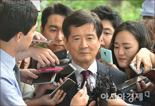 [포토]남상태 전 대우조선 사장, '묵묵무답'