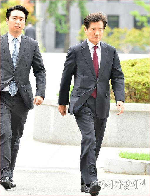 [포토]검찰 출석하는 남상태 전 대우조선 사장