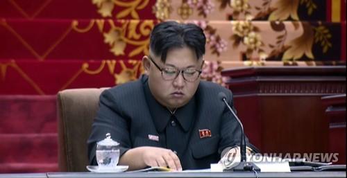 북한 김정은 위원장. 사진=연합뉴스 제공