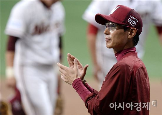 """'6연승' 염경엽 감독 """"박동원, 오랜만에 밥값했다"""""""