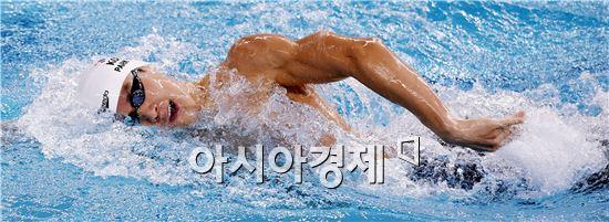 박태환[사진=김현민 기자]