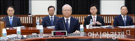 [포토]국회 정보위 전체회의