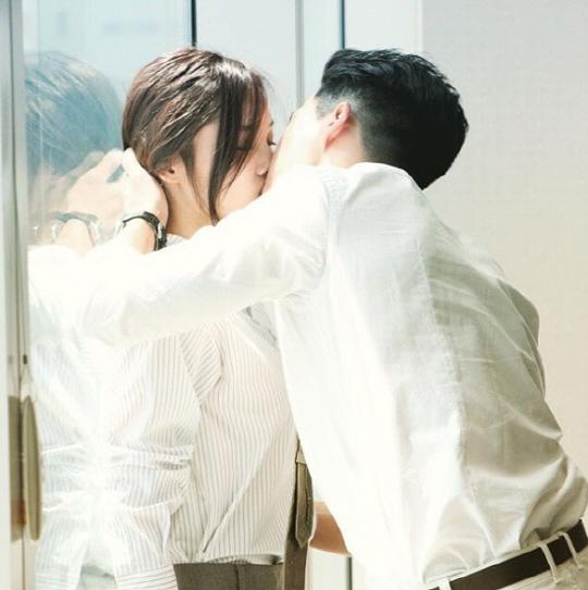 '연극이 끝나고 난 뒤' 배우 윤소희, 하석진/사진=tvN 공식 인스타그램