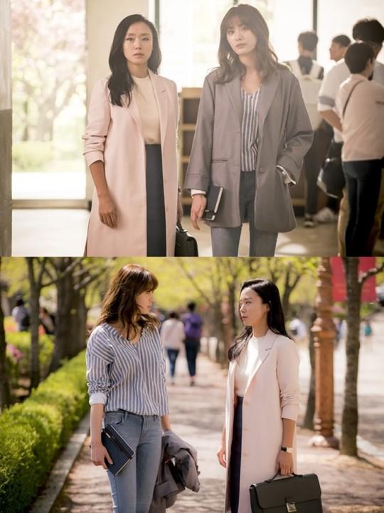 나나 전도연/사진=tvN
