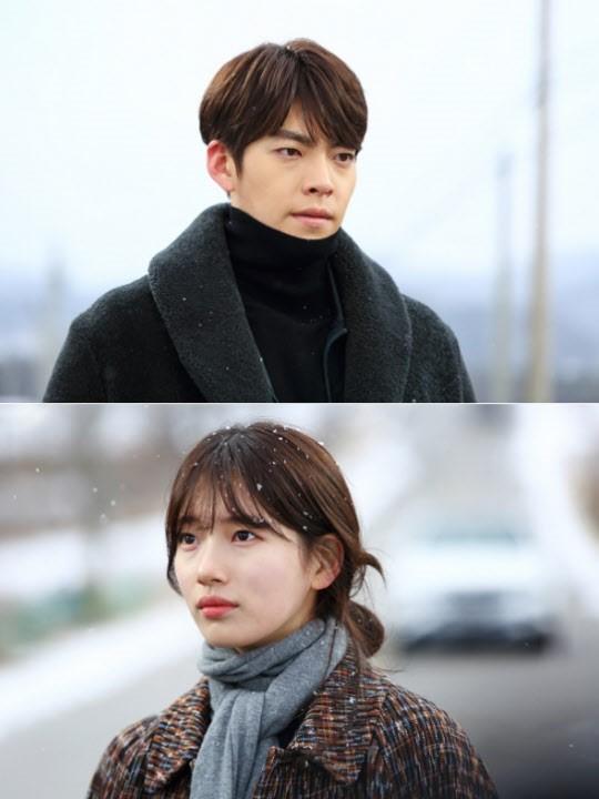 KBS 2TV '함부로 애틋하게' 김우빈-수지. 사진=삼화 네트웍스, IHQ