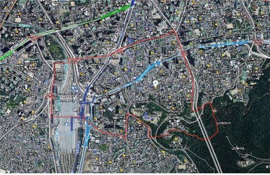회현역 일대 항공사진(자료:서울시)