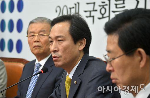 """우상호 """"진경준 구속, 법무부장관·검찰총장 '사퇴' 거론해야"""""""
