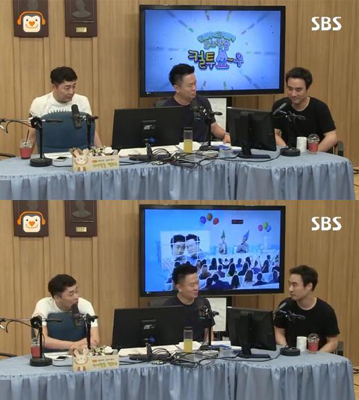 '두시탈출 컬투쇼'에 출연한 영화배우 배성우. 사진=SBS 파워FM 화면 캡처