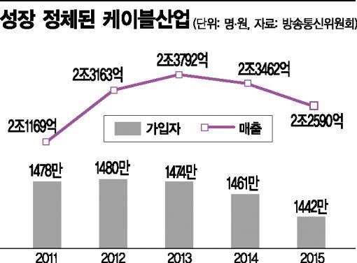 """[SKT M&A 불발]진퇴양난 케이블 업계, """"대책 마련 촉구"""" 성명서<전문>"""