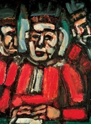조르주 루오 '세명의 재판관'(1913)